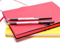 PILOT 2020 Birdie Sweet Flower F Fine Steel Nib Fountain Pen & 0.5 Leads Shaker Mechanical Pencil Set in Box