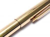 Stunning Rare New NOS 1960s Pelikan M60 / 60 All Rolled Gold 750 18K EF Nib Piston Filling Fountain Pen