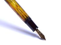 Pelikan 400N Gunther Wagner 1955-1957 Tortoise Brown Shell Fountain Pen