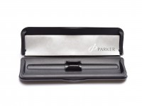 NOS Parker Practical Hard Shell Protective Carrying Case Holder for One Fountain Ballpoint Rollerball Stylus Pencil Pen Made in Holland