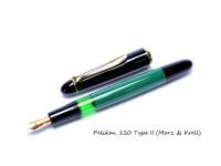 Vintage Original 1970's PELIKAN 120 Series Type 2 Fountain Pen Merz & Krell Cap Section Unit Part Spare