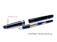 Vintage Montblanc No. 144 Fountain Pen Inner Cap Part Spare Repair