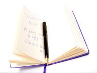 Vintage Parker Sonnet Black Lacquer & Gold Plated Trims Twist Mechanism Ballpoint Pen Made in France
