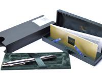 CROSS Townsend Chrome & Gold Fountain Pen