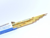 Schneider 575 / 75 Office Blue Ballpoint Pen Metal Slim Refill ISO 12757-2 A2 Made in Germany