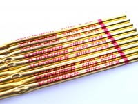 575 / 75 Office Red Ballpoint Pen Metal Slim Refill ISO 12757-2 A2 Made in Germany
