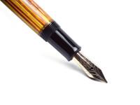 Pelikan 400NN 400 Flexible Nib Tortoise Brown Striped Gunther Wagner Fountain Pen