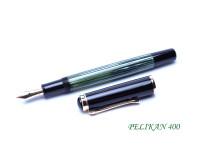 Pelikan 400 400N & 400NN Celluloid Tortoise Green Fountain Pen Spare Part Body Barrel Replacement