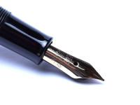1951-52 PELIKAN 400 Flexible 14K Nib Tortoise Brown Fountain Pen