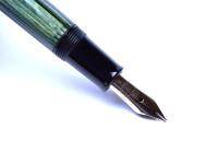 1951 PELIKAN 400 Tortoise Green Fountain Pen