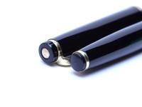 KAWECO V71 Masterpiece Black Resin Fountain Pen