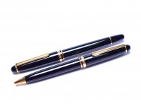 1992 Spanish INOXCROM 1920 CARAVEL II 2 Fountain Ballpoint Pen