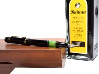 1937 ('38 '39 '40) Pelikan 100 Danzig Celluloid & Ebonite All Black EF to BB Super Flexible CN Nib Piston Fountain Pen1937 ('38 '39 '40) Pelikan 100 Danzig Celluloid & Ebonite All Black EF to BB Super Flexible CN Nib Piston Fountain Pen