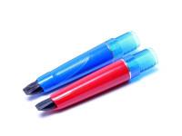 Pelikan Pelikano Fountain Pen Front Section Unit Part Red Blue or Black (M MK P Lines)