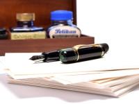 1937 ('38 '39 '40) Pelikan 100 Danzig Celluloid & Ebonite All Black EF to BB Super Flexible CN Nib Piston Fountain Pen