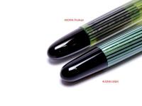 Pelikan 400NN vs Pelikan 400NN M&K Merz Krell feed nib