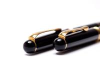 W. Germany Herlitz Bugatti Fountain Ballpoint Pen Set