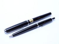 Pelikan MK20 & DK20 Silvexa Fountain & Ballpoint Pen Set