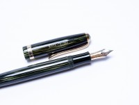 Faber Castell Osmia 883 EF Tortoise Green Celluloid Fountain Pen