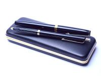 Senator Germany Vintage 140 gold fountain and ballpoint pen set