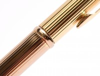 1990's Parker Insignia Dimonite G. 14K Gold Plated 0,5 MM Leads Push Mechanism Mechanical Pencil