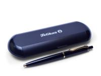 Vintage W. Germany Pelikan K100 Black & Gold Ballpoint Pen 337 Refill