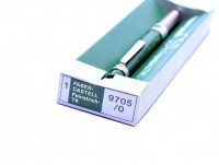 NOS 1970s 0.5mm Faber Castell TK Fine 9705/0 Germany Green H/2H/3H/4H/B/HB Knurled Mechanical Pencil in Box