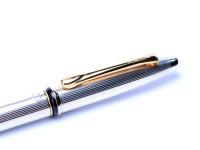 Italy Borghini V1 Solid 925 Sterling Silver Ballpoint Pen