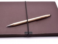 Cross Classic Century 14K Rolled Rose Gold 0.5mm Leads Twist Mechanism + Eraser Mechanical Pencil Made in Ireland