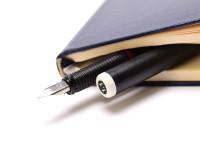 Vintage Rotring Artpen Calligraphy 1.1mm Nib Fountain Pen NOS In Carton Box + Two Cartridges