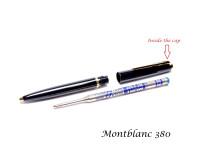 Vintage Metal Montblanc No. 284 281 & 380 Ballpoint Pen Cap Top Screw Ring Part Spare Repair
