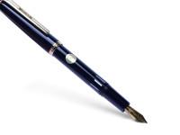 1980 Rotring Renaissance 1st Series Fountain Pen OB Oblique Broad Nib
