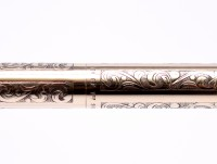 Rare 1960s SHEAFFER Imperial 12K Gold Filled Grape & Leaf Etched Ballpoint Pen In Box