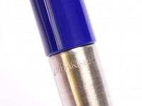 Original 2004 I.I T.III NOS PARKER Vector Made in UK Classic Blue Purple 0.5mm Mechanical Pencil with Eraser in Box