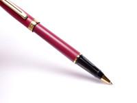 Vintage Sheaffer Prelude Bordeaux Burgundy Maroon Red Rollerball Pen USA