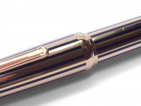 Limited Edition Louis Cartier Dandy Gold Lacquer Enamel 18K Nib Fountain Pen