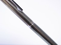 Rare 1975 Crosshatch Knurled PILOT CUSTOM 0.5mm Sterling Silver Solid 925 Namiki Mechanical Pencil Japan