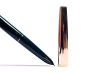Hero 330 Arrow Aerometric Dark Green F Fine Hooded Nib Fountain & Ballpoint Pen Set in Real Wooden Box