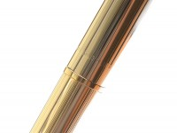 made in USA Quill 18k 750 Gold Filled Fountain Pen