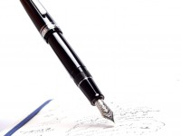 Oversize SAILOR 1911 Japan Large Black Resin Silver Rhodium Plated 21K 875 Solid White Gold H-EF NIb 100 Year Anniversary Fountain Pen