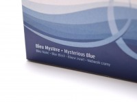 New WATERMAN Paris Standard International Format Made in France Mysterious Blue Black Large Size Fountain Pen Ink Cartridges Refills - Pack of 8