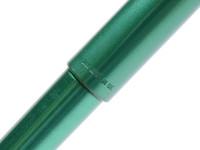 Vintage Chrome Trim Green Parker Reflex M Medium Size Nib Fountain Pen Made in UK