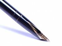Sheaffer Imperial IV Touchdown Black Resin & Gold Filled Fountain Pen