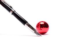 NOS Parker Premier Black Lacquer & Chrome Trim F Fine 18K 750 Gold Nib Fountain Pen in Box