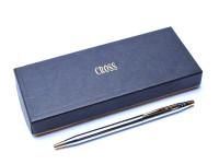 CROSS Century Classic Chrome & Gold Ballpoint Pen