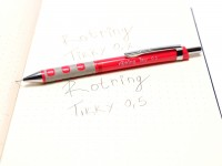 Rotring Tikky Mechanical Pencil w/ Rubberized Grip Coral Color 0,5MM Leads