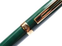 Vintage Sheaffer Prelude Leaf Green Lacquer Pen USA