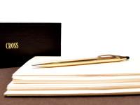 Vintage Cross Classic Century 12K Gold Filled Twist Mechanism Ballpoint Pen 6601 in Box