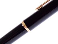 All black Pelikan MK10 fountain pen