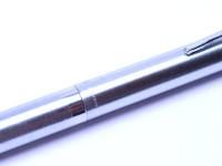 Rare 1970's FEND Round 4 Color Black Red Blue Green Chromed Matte Multi Ballpoint Pen Gyro Mechanism